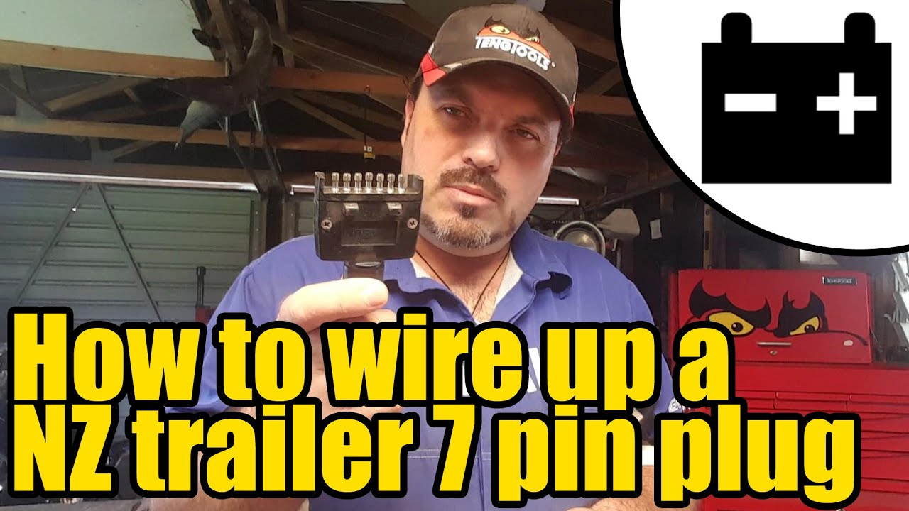 trailer lights wiring diagram nz how to wire up a    nz       trailer       lighting    plug 1946 youtube  how to wire up a    nz       trailer       lighting    plug 1946 youtube