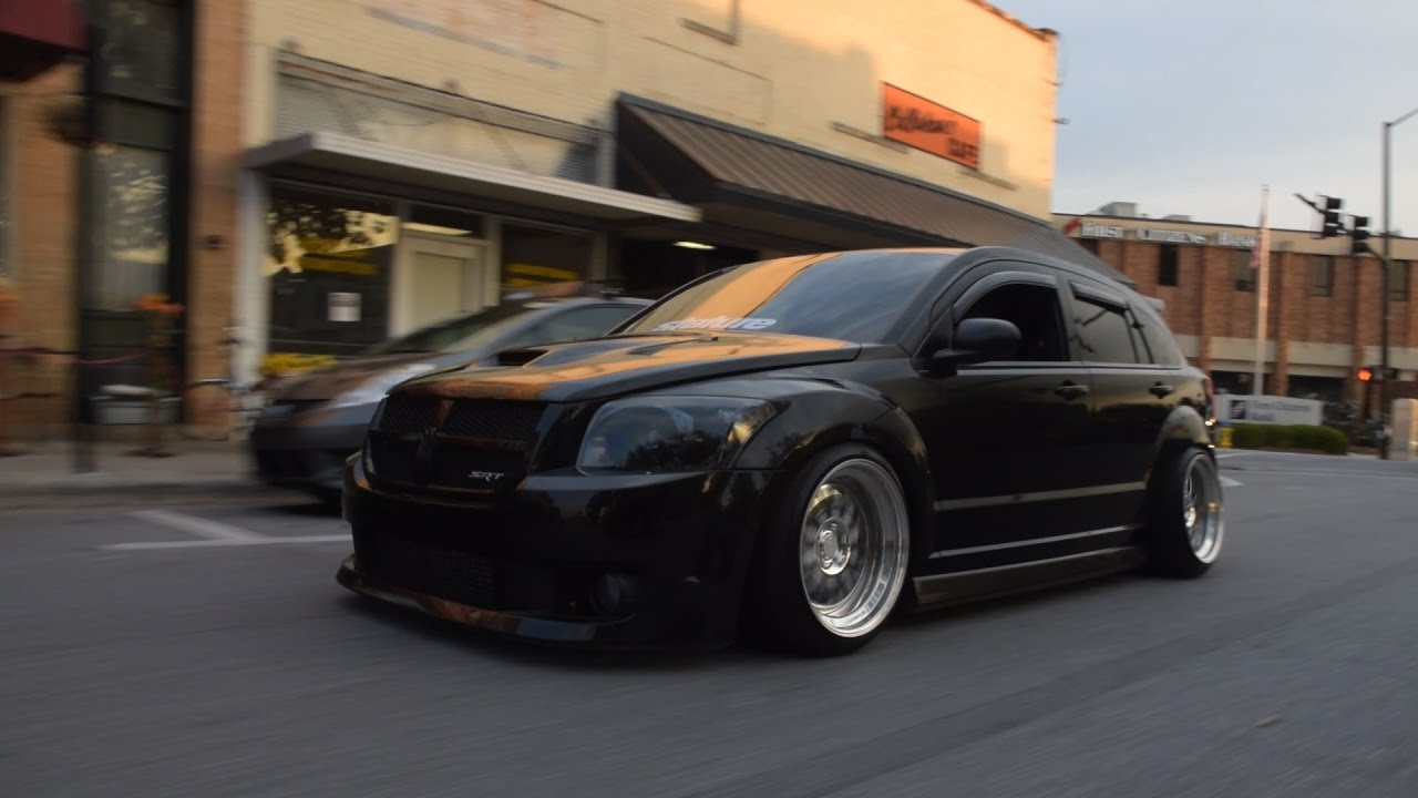 Slammed SRT4 Caliber | H&S Media - YouTube