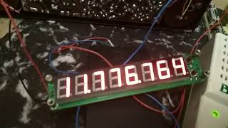цифровая шкала-частотомер на Спидолу (для настроек контуров)