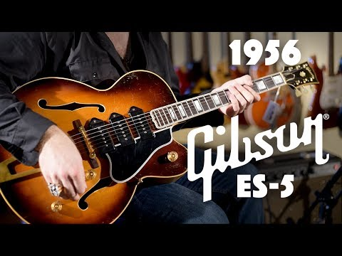 gibson es 5 wiring diagram 1956 gibson es 5 played by jd simo youtube  1956 gibson es 5 played by jd simo