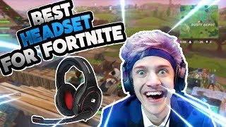 Video BEST HEADSET/MIC FOR FORTNITE | BECOME A PRO OVERNIGHT (NINJA RECOMMEND!) download MP3, 3GP, MP4, WEBM, AVI, FLV Juni 2018