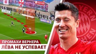 Левандовски НЕ ВЫИГРАЕТ Золотую бутсу Челси уводит Вернера у Ливерпуля