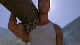 Arnold Schwarzenegger CARRIES 3000 KG WOOD!!!! thumbnail