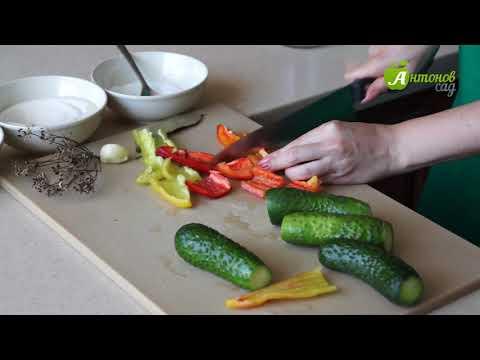 Рецепт хрустящих огурцов на зиму