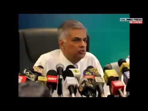 Ranil Wickremasinghe @ OL Office - Colombo - 23 December 2014