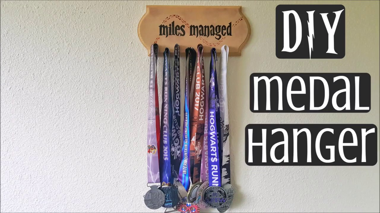 Diy Harry Potter Medal Rack Youtube
