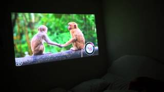 LG PW800 LED Projector - Playback Quality, Color Output & Sharpness [HD-60FPS](Playing some videos to show you guys the the quality playback and sharpness this little projector gives off. It's amazing for the price and really still blows my ..., 2015-04-27T07:37:36.000Z)
