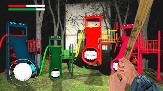 МЫ НАШЛИ РАДУЖНАЯ ГОРКА ПОЖИРАТЕЛЬ В ГРЕННИ ОНЛАЙН - Granny Online Horror Game RAINBOW EXTRA SLIDE