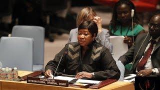 ICC Prosecutor Urges Support in Arresting Darfur Suspects