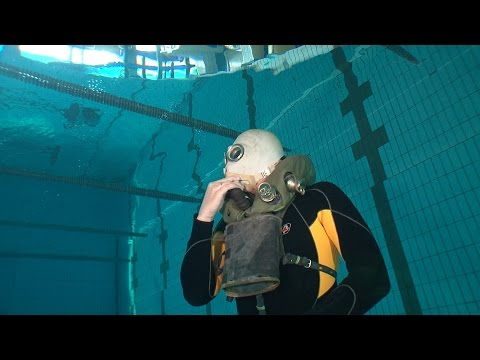 The Russians have developed a compact rebreather for their divers that can run up to 2 hours on a single dive