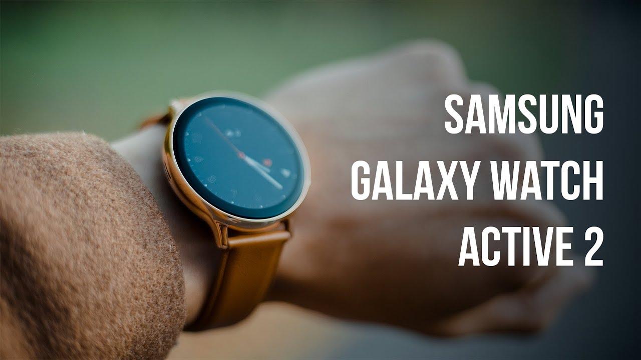 Samsung Galaxy Watch Active 2: Bate Apple Watch 5? (review română)