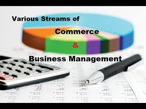 Various Streams of Commerce & Business Management (PG)