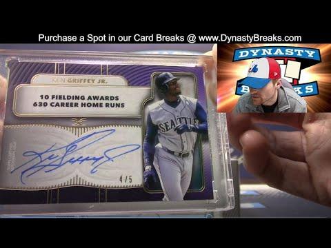 2021 Topps Definitive Baseball Card 3 Box Case Break #5   Sports Cards