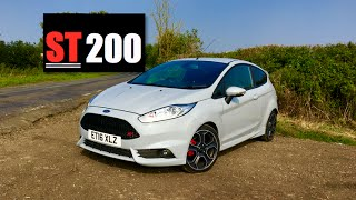 Ford Fiesta ST200 Review - Inside Lane(This is the Ford Fiesta ST200 hot hatchback and it brings with it more than just a limited edition badge. Powered by a 1.6 litre turbocharged engine producing ..., 2016-09-16T16:25:40.000Z)