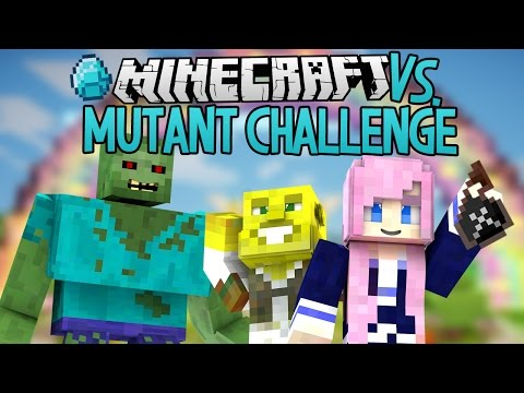 Mutant Challenge | Modded Minecraft VS.