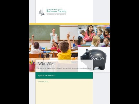 New Research Webinar  | Win Win   Pensions Efficiently Serve American Schools and T