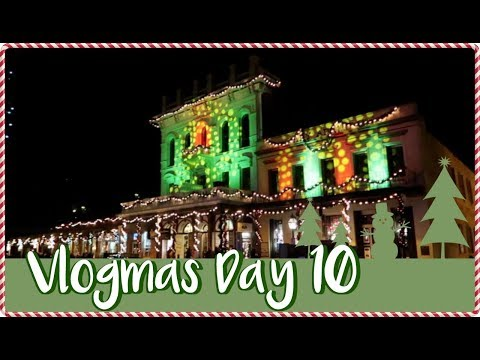 VLOGMAS DAY 10 - CHRISTMAS IN OLD TOWN SACRAMENTO