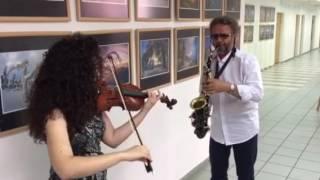�������� ���� Ширли и Володя- дуэт скрипки и саксофона ������