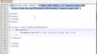 Beginner JavaScript Tutorial - 19 - for Loop