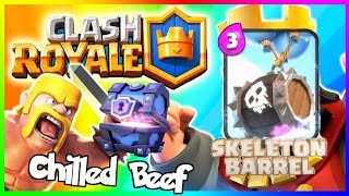 Clash Royale Skeleton Barrel Deck! #Halloween Challenge, Clash Royale ep #2