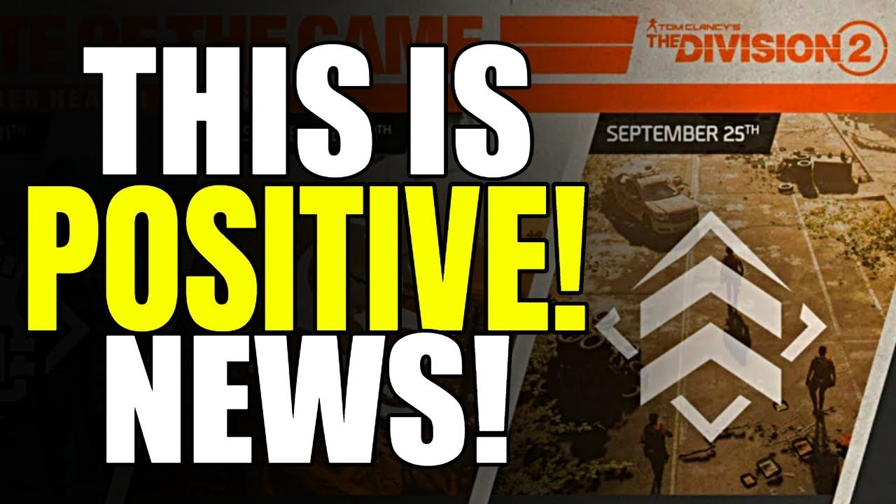 The Division 2 NEWS! LOOT, GEAR & DZ! SEPTEMBER SCHEDULE, ETF & MORE!