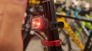 新製品のBontrager Flare R Cityの光量自動制御 thumbnail