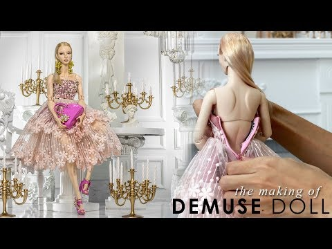 The making of DeMuse Doll Christmas 2018