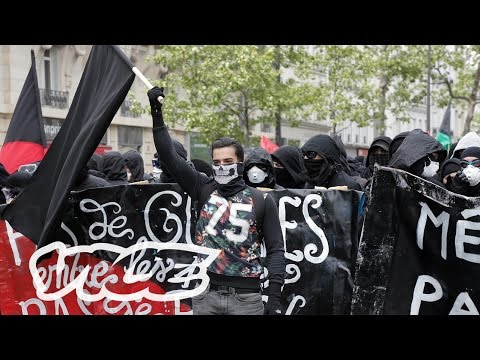 France's Anarchists Clash With the Police on May Day