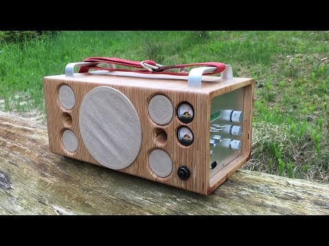 how to build a homemade speaker