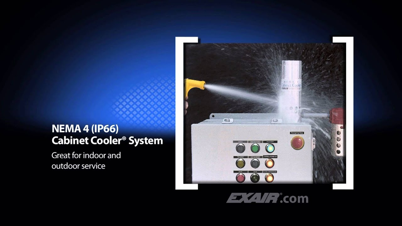 Awesome Exair Vortex Cabinet Cooler