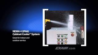 CE Compliant Cabinet Cooler Systems from EXAIR Corporation