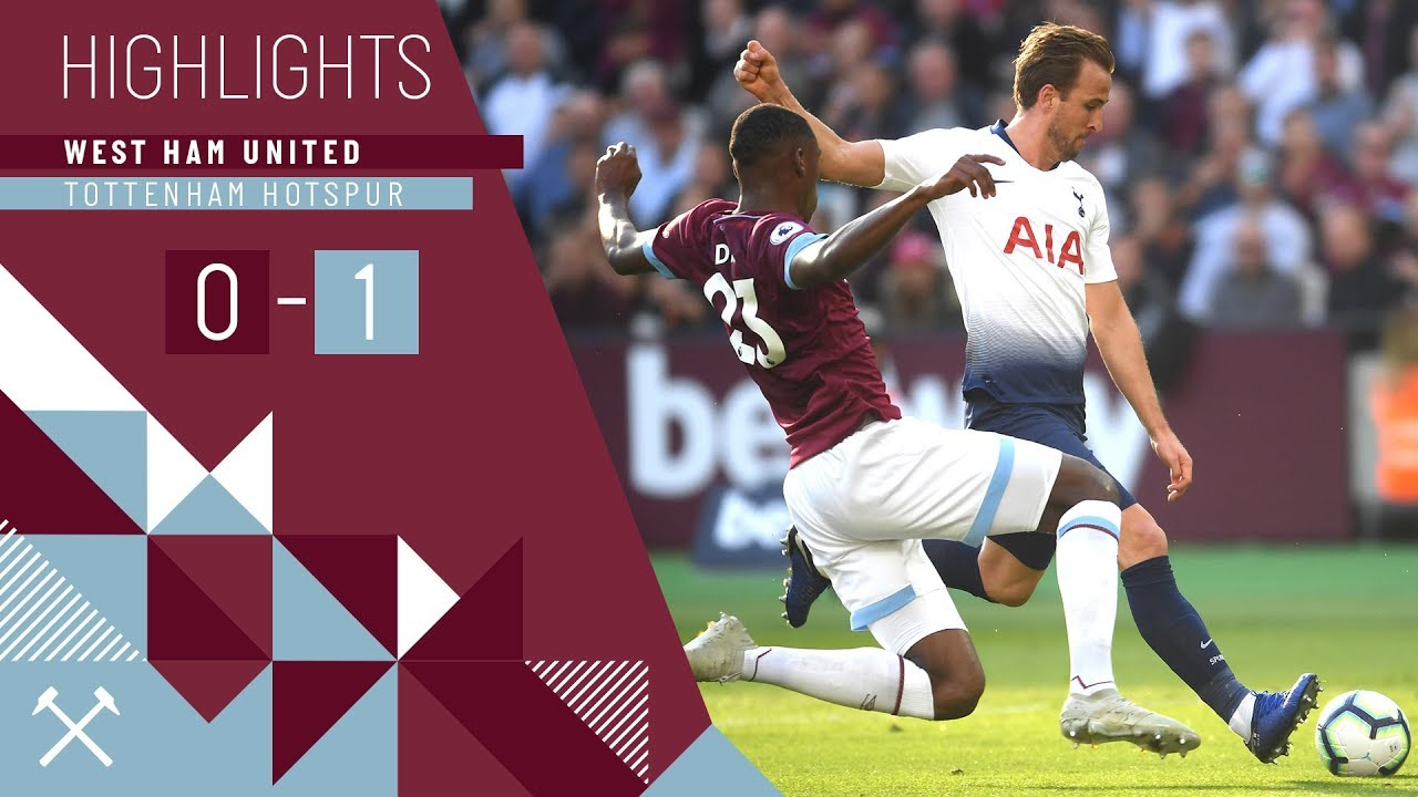 HIGHLIGHTS | WEST HAM UNITED 0 - 1 TOTTENHAM HOTSPUR