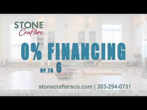 Stone Crafters Inc. 0% Financing Kitchen Counters Denver, Colorado.