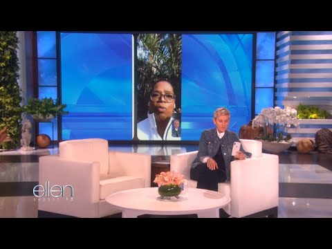 Oprah shares her experience of California mudslides on Ellen