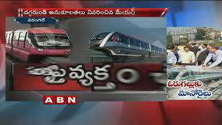 Green Signal for Warangal Monorail project