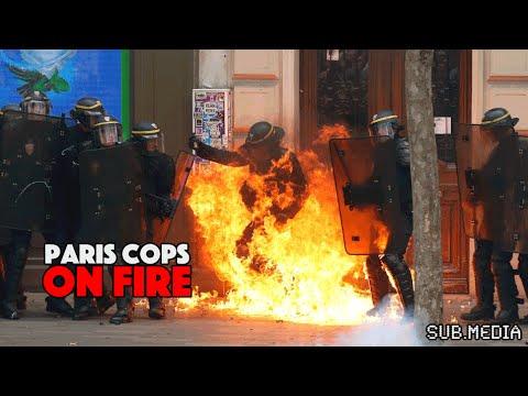 Paris Cops of Fire