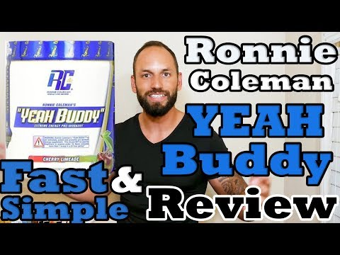 Ronnie Coleman Signature Series   Yeah Buddy Pre-Workout Supplement   Review