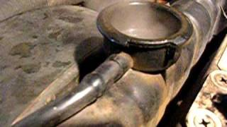 Выхлопные газы в системе охлаждения Мерс 123-й
