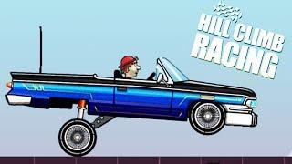 Новая ТАЧКА ЛОУРАЙДЕР обновление - lowrider Hill Climb Racing VIDEO FOR KIDS cars игра про машинки