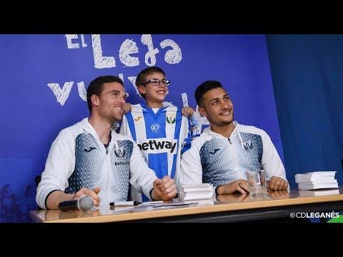 'El Lega Vuelve Al Cole' con Eraso y Óscar Rodríguez. Colegio León Felipe.