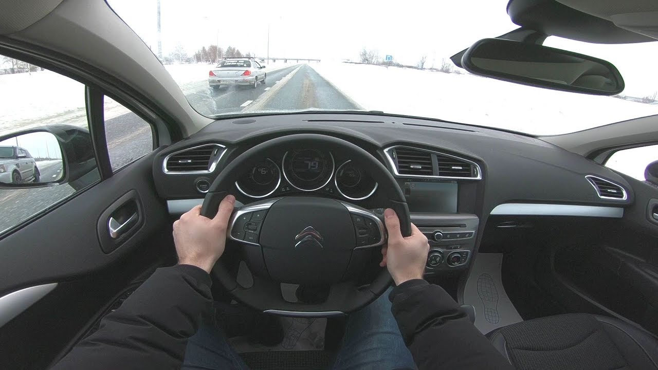 2019 Citroen C4 POV TEST DRIVE
