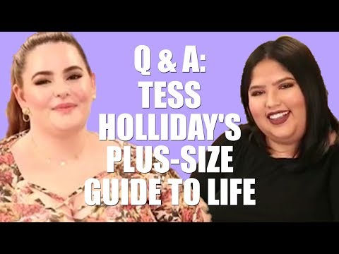 TESS HOLLIDAY INTERVIEW | Marriage, Mistakes, Dealing with Negativity