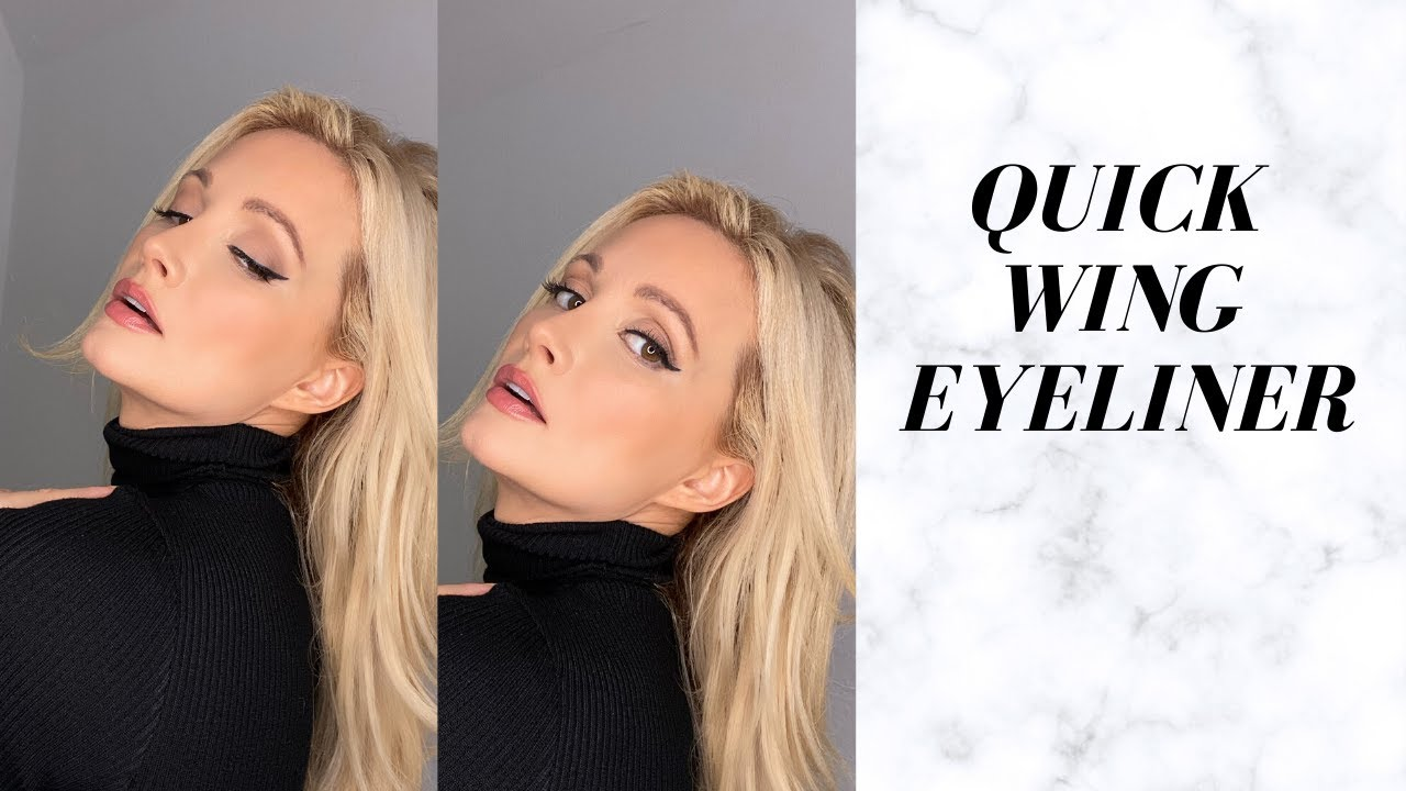 Quick Wing Eyeliner Tutorial Get It Perfect Every Time Holly Madison Youtube