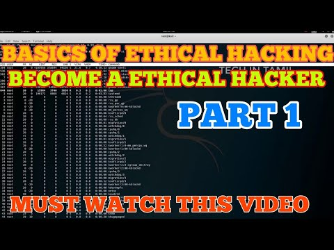 Basics of Ethical Hacking || part-1 || Tech In Tamil