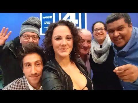 Perfiles -Canal4 Radio. 15.12.2017 - Invitados - Rocío Peña del Valle , Gerard Rodriguez Forteza -