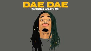 dae dae wat u mean aye aye aye official audio only
