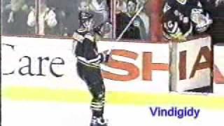 *Kasparaitis - crowd and hits 4/19/97 playoffs