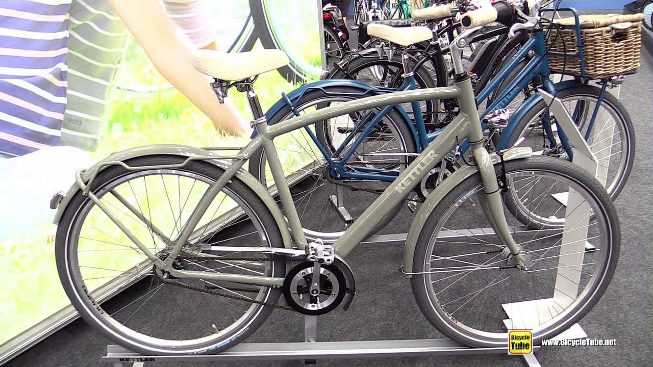 2016 kettler berlin city bike walkaround 2015 eurobike. Black Bedroom Furniture Sets. Home Design Ideas