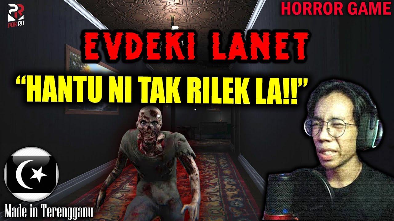 *SERAM* DIGANGGU HANTU TUA DALAM RUMAH!! || EVDEKI LANET Gameplay [Pok Ro] (Malaysia)