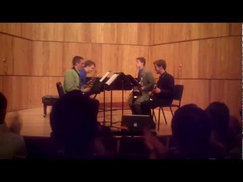 Brandenburg Concerto No. 3 for saxophone quartet